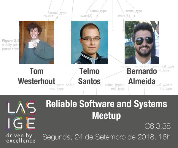 RSS Meetup: Tom Westerhout, Bernardo Almeida and Telmo Santos