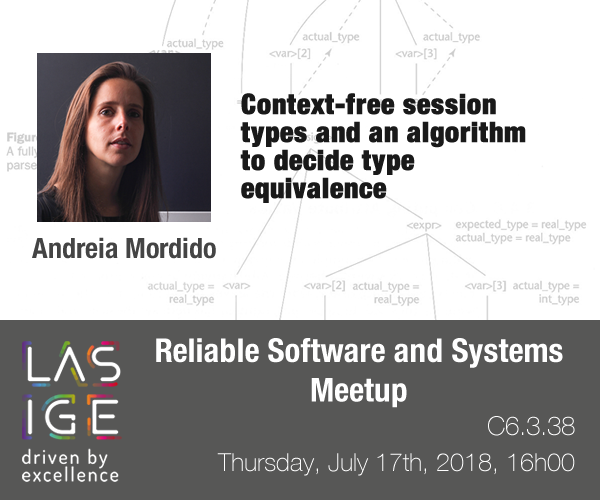 RSS Meetup: Andreia Mordido
