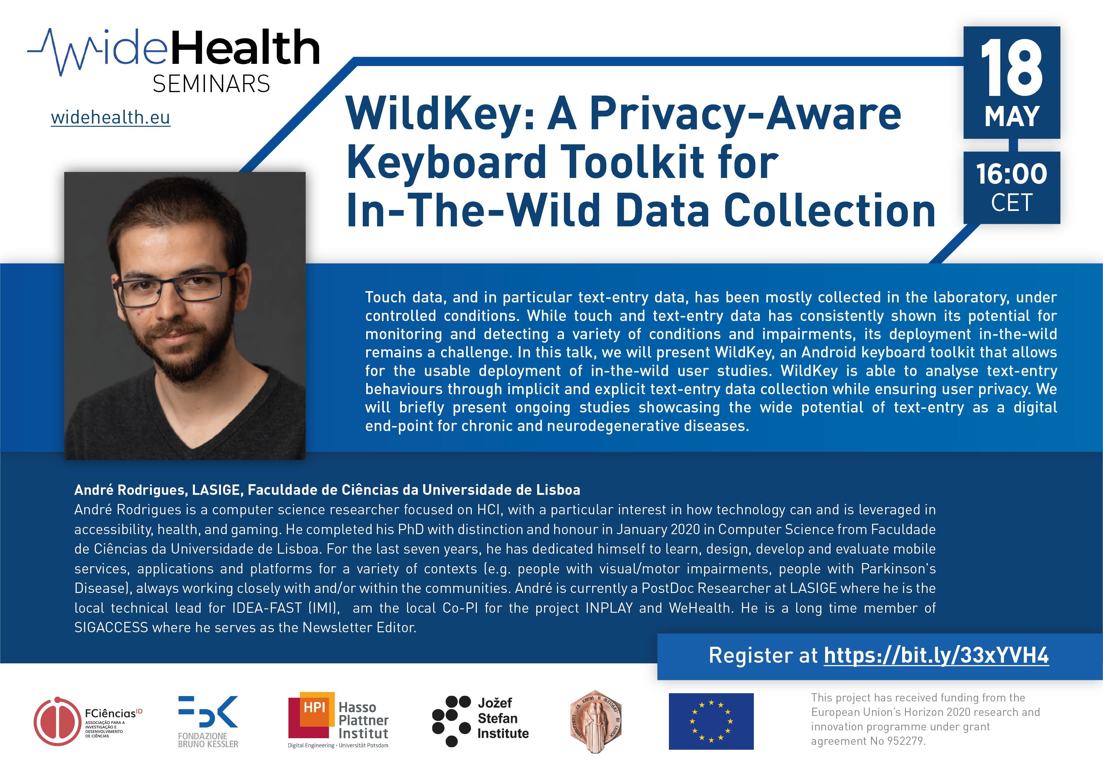 2nd WideHealth Seminar: André Rodrigues